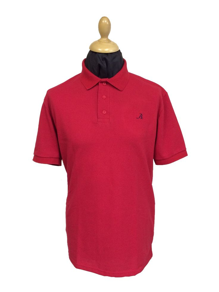 Our made in England polo shirts