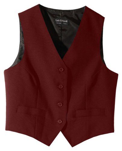 Ed Garments 7490 Women's Economy Vest - Burgundy - X-Small Ed Garments http://www.amazon.com/dp/B007X49M7S/ref=cm_sw_r_pi_dp_ljm6ub1GNWNF5
