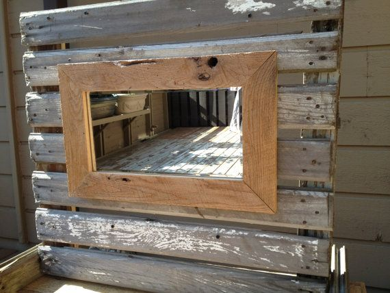 Barnwood Framed Bathroom Mirrors best 25+ barn wood frames ideas on pinterest | diy wood picture