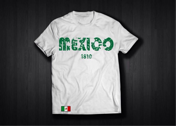 A personal favorite from my Etsy shop https://www.etsy.com/listing/517076956/mexico-1810-t-shirts