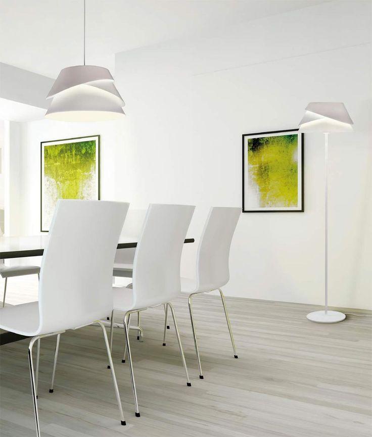 Lámparas modernas ALBORAN ambiente – La Casa de la Lámpara