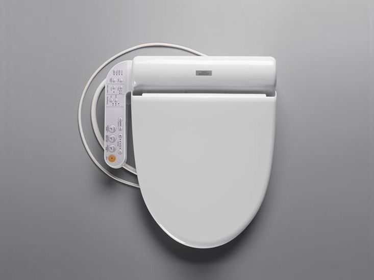 TOTO SW502#01 B100 Washlet for Elongated Toilet Bowl: Remodelista