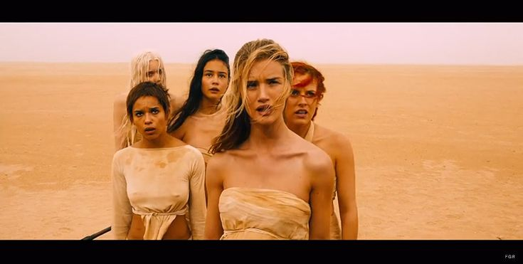mad max fury road rosie models First Look at Rosie Huntington Whiteley & Abbey Lee Kershaw in the Mad Max: Fury Road Trailer