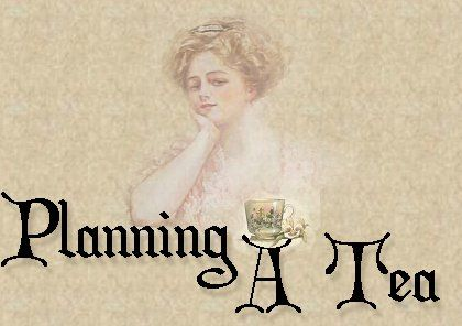 Planning A Victorian Tea Party ~ Very good site with planning ideas, recipes for a tea party from the 1800's!