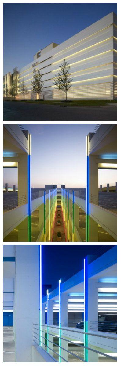 Внешний вид Chesapeake Car Park очень привлекателен. Особенностью здания являются металлические панели, которые представляют собой стены и одновременно обеспечивают доступ воздушным потокам, что позволяет квалифицировать здание как открытую парковку. #светодиоды #освещение #подсветка #светодизайн #освещениездания #освещениепарковки #уличноеосвещение #освещениепомещений #освещениегаража #архитектурноеосвещение #освещениезданий #подсветказданий