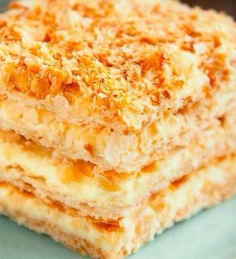 Napoleon Cake - Recipe, Desserts, Holidays, Layers of Delicious Goodness