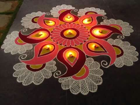 What a beautiful kolam