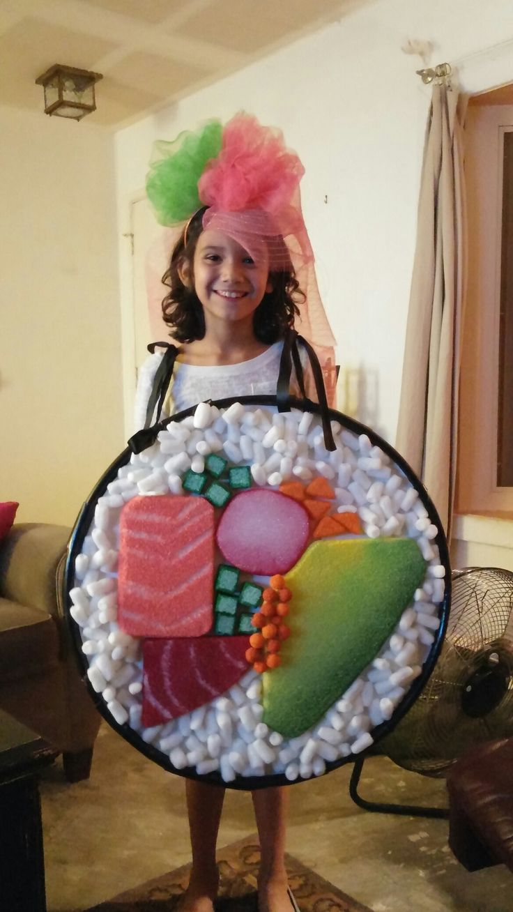 DIY sushi costume                                                       …