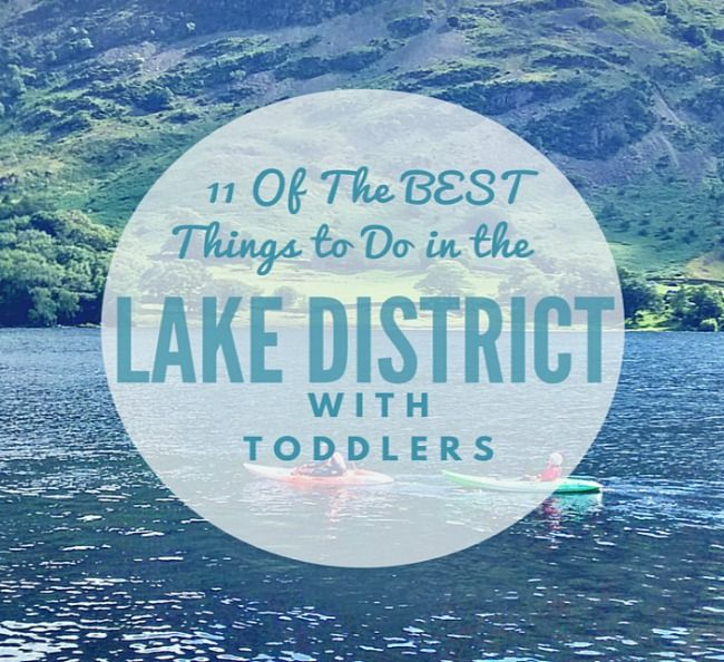 11 of the best things to do in the Lake District with toddlers including things to do on a rainy days, awesome days out, lakeside parks and castles made for exploring.