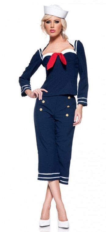 Women's Ship Mate Sailor Costume - Candy Apple Costumes - New Costumes for 2014