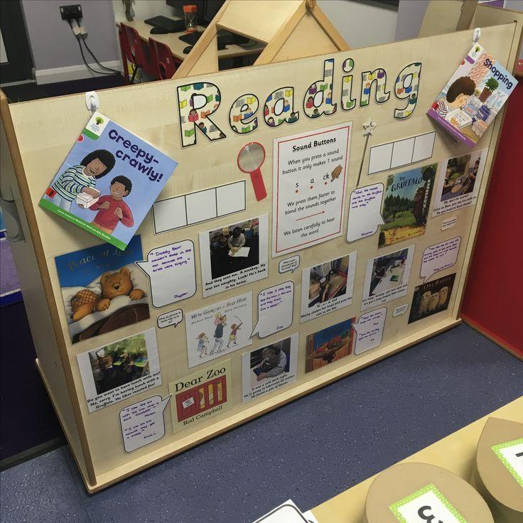 EYFS reading display