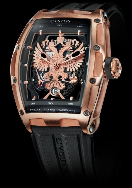 CVSTOS Proud to Be Russian - Gérard Depardieu Edition Limited Edition Red Gold with Black Steel components