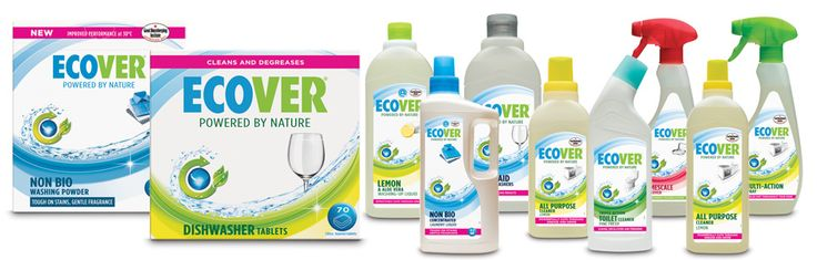 25% OFF ECOVER environmentally friendly cleaning products.  Offer ends 31st July.  Visit OoE