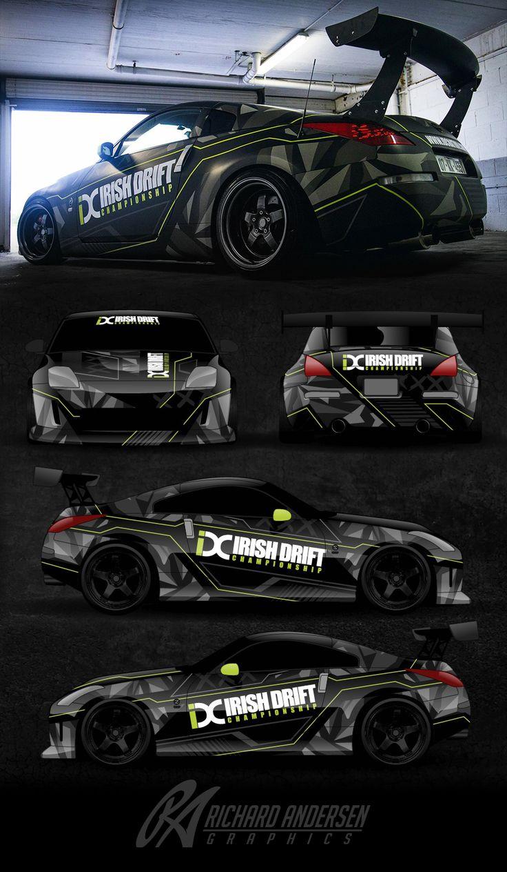 Car sticker design pinterest - Wrap Design By Richard Andersen Https Ragraphics Carbonmade Com Stickervehicle