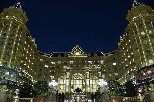 東京ディズニーランドホテル / 夜景
