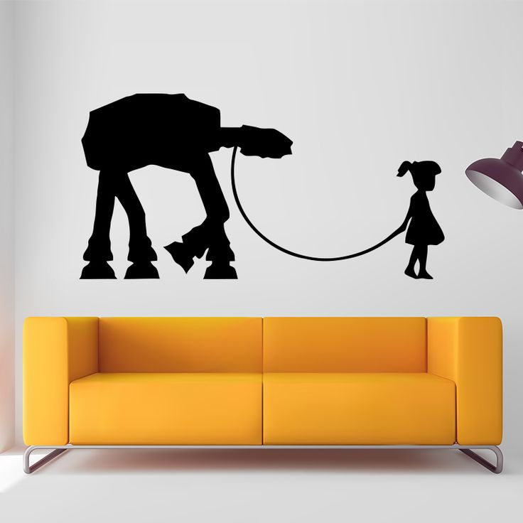 Find More Wall Stickers Information about BANKSY Girl Walking WALL STICKER Home Decor Street Art Vinyl Car…