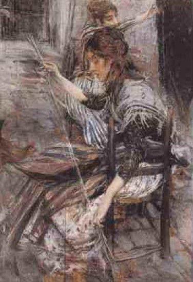 Boldini Giovanni - La filatrice
