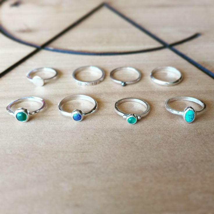 #silver #rings #tusquesa #turmalina #lapislazulí #midirings #midi #altocentinela @altocentinela