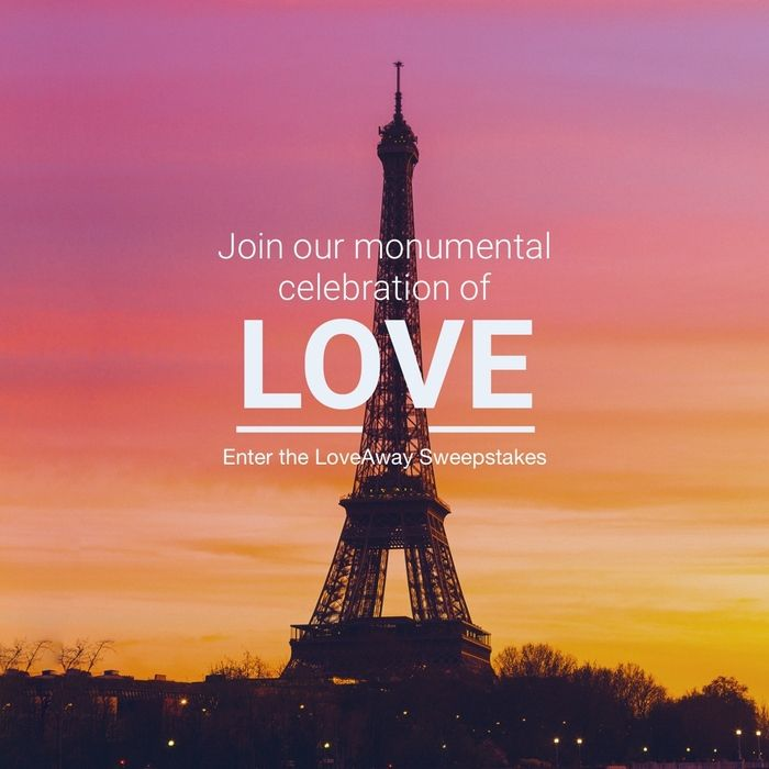 """In case you don't win an overnight stay in the Eiffel Tower Apartment, we're giving you a second chance to go to Paris...  Got a big-time love in your life? Grab the chance to win a trip for two to the world capital of amour! You'll get a three-night stay, round-trip airfare, and access to our """"HomeAway LoveAway"""" fête inside the HomeAway Eiffel Tower Apartment. Enter by June 12, 2016, and get ready for a romance-fueled adventure in the heart of Paris. #EiffelTowerAllYours"""