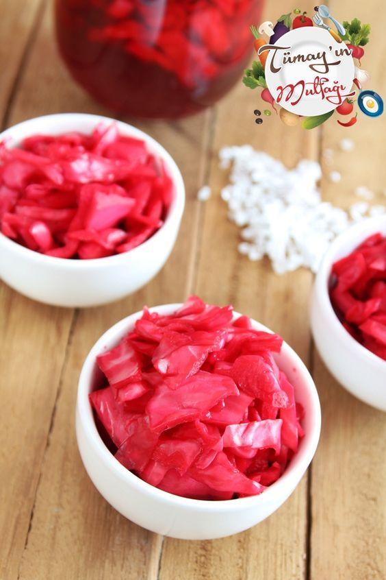 Kırmızı Lahana Turşusu | Tümayın Mutfağı - En İyi Yemek Tarifleri Sitesi