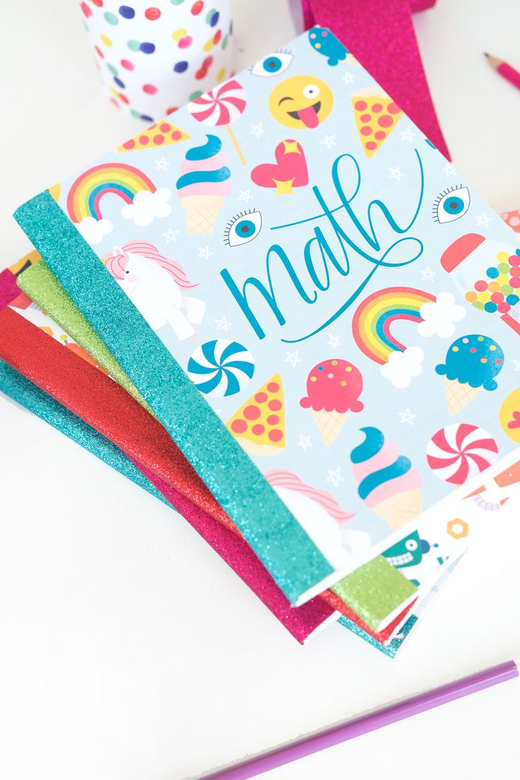 These printable composition notebook covers are perfect for school-age kids and grown ups too! If you love colorful designs, these are for you!