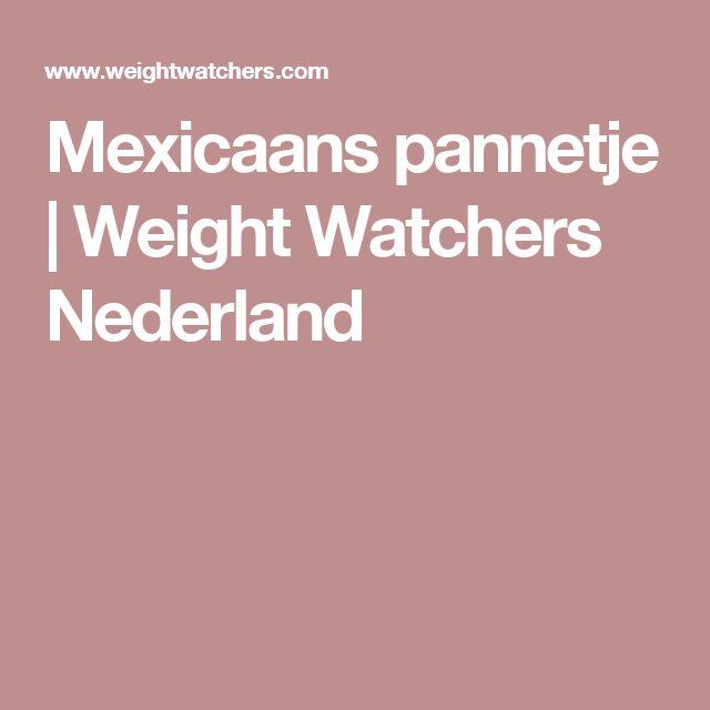Mexicaans pannetje | Weight Watchers Nederland