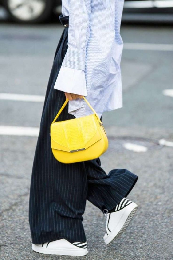 Bags | Yellow | Flared | Streetstyle | More on Fashionchick.nl