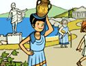 BBC History for Kids - Ancient Greece site, including Greek Hero Game