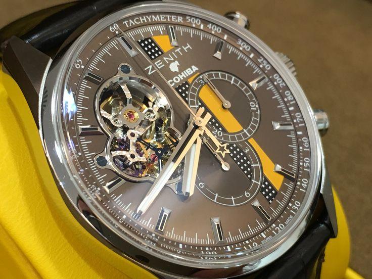 Zenith Chronomaster El primero Cohiba limited edition 500 pieces