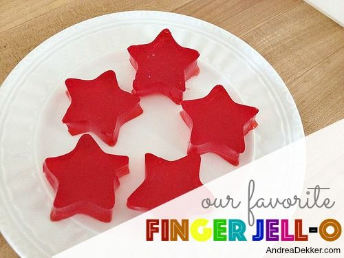 Our Favorite Finger Jell-O Recipe (christmas party appetisers mom)