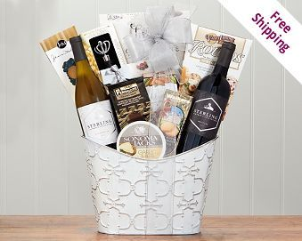 Thank you gift basket gift teacher and basket ideas the 25 best beste ideer om thank you baskets p pinterest ideer til negle Image collections