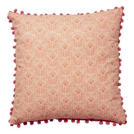 Rio Cushion in Tangerine and Pink
