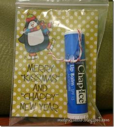Another great DIY Christmas party gift or handout for teachers? CUTE! | best stuff