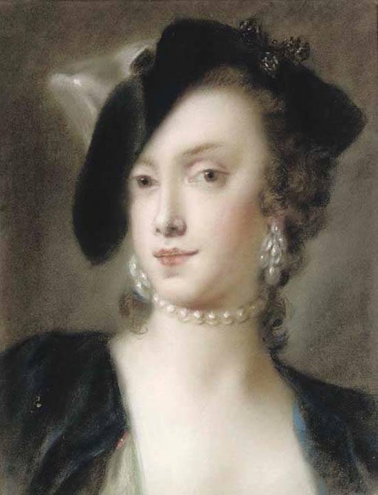 Rosalba Carriera, Ritratto di Caterina sagredo Barbarigo, 1741