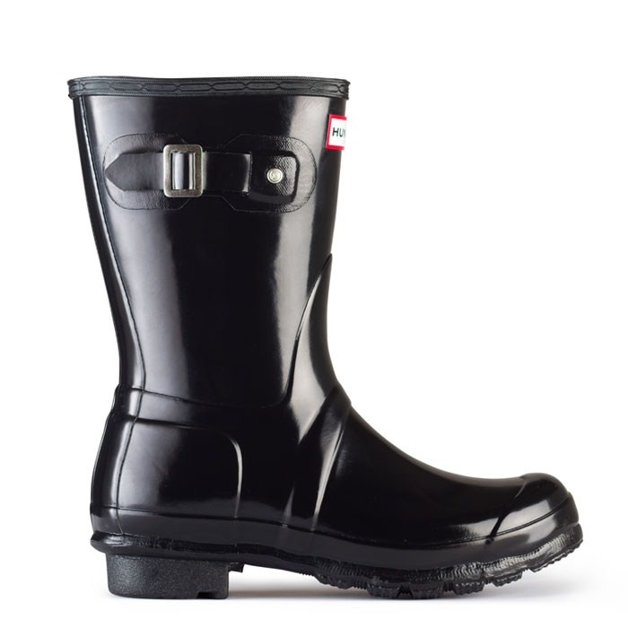 Original Gloss Short - Black | Hunter Boot