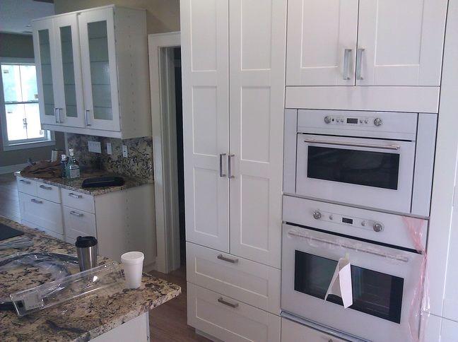 Ikea Adel white kitchen installed 5