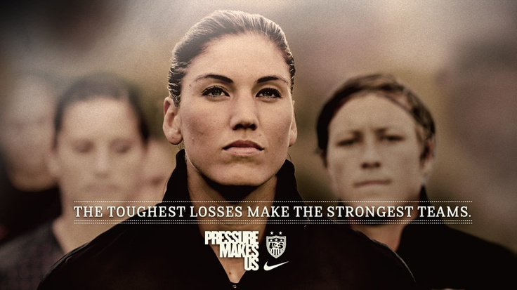 Hope Solo's gonna bring home the gold {{2012 Olympics}}