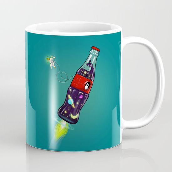 Bottleship 2 Mug by Claudio Nozza Art   Society6