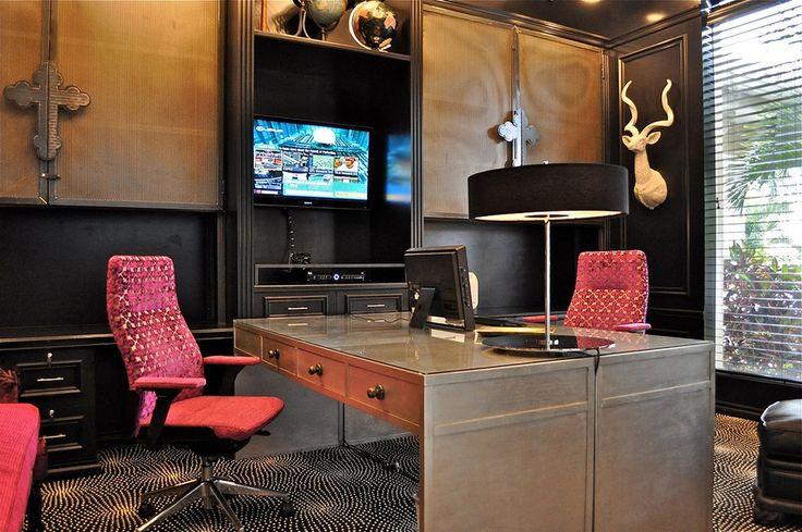 OFFICE - contemporary - home office - kansas city - Tran + Thomas Design Studio