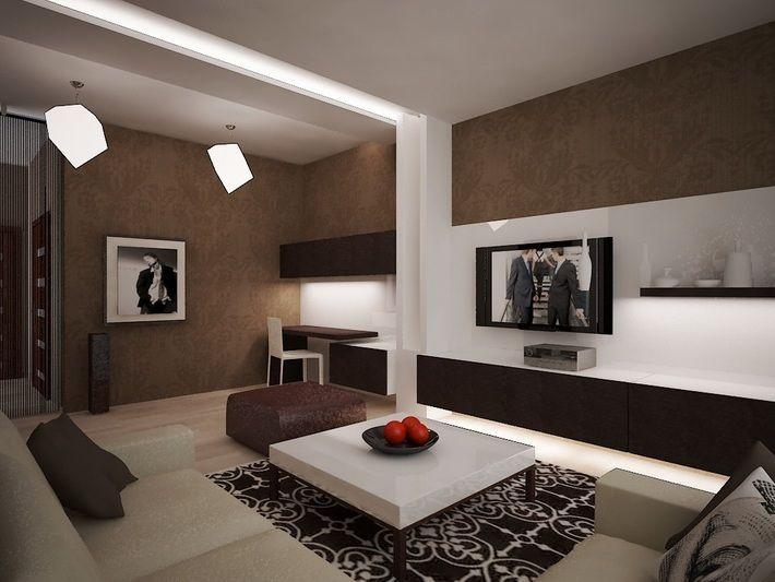 дизайн маленькой гостинной с камином фото - Поиск в Google