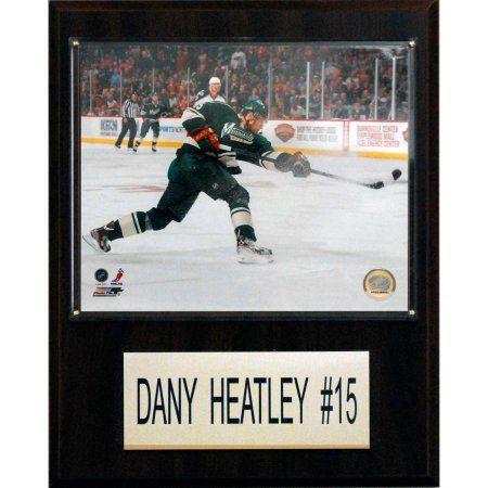 C Collectables NHL 12x15 Dany Heatley Minnesota Wild Player Plaque, Multicolor
