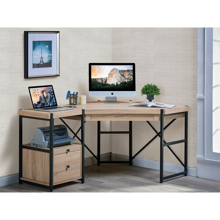 Space Saving Built In Office Furniture In Corners: 25+ Best Ideas About Corner Desk On Pinterest