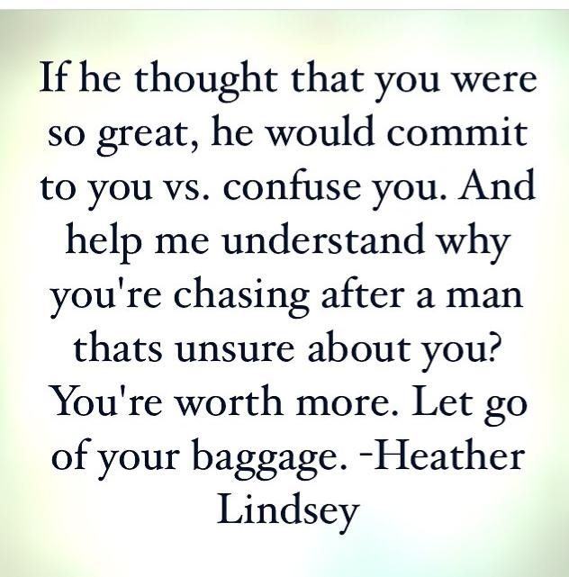 Truth. Heather Lindsey