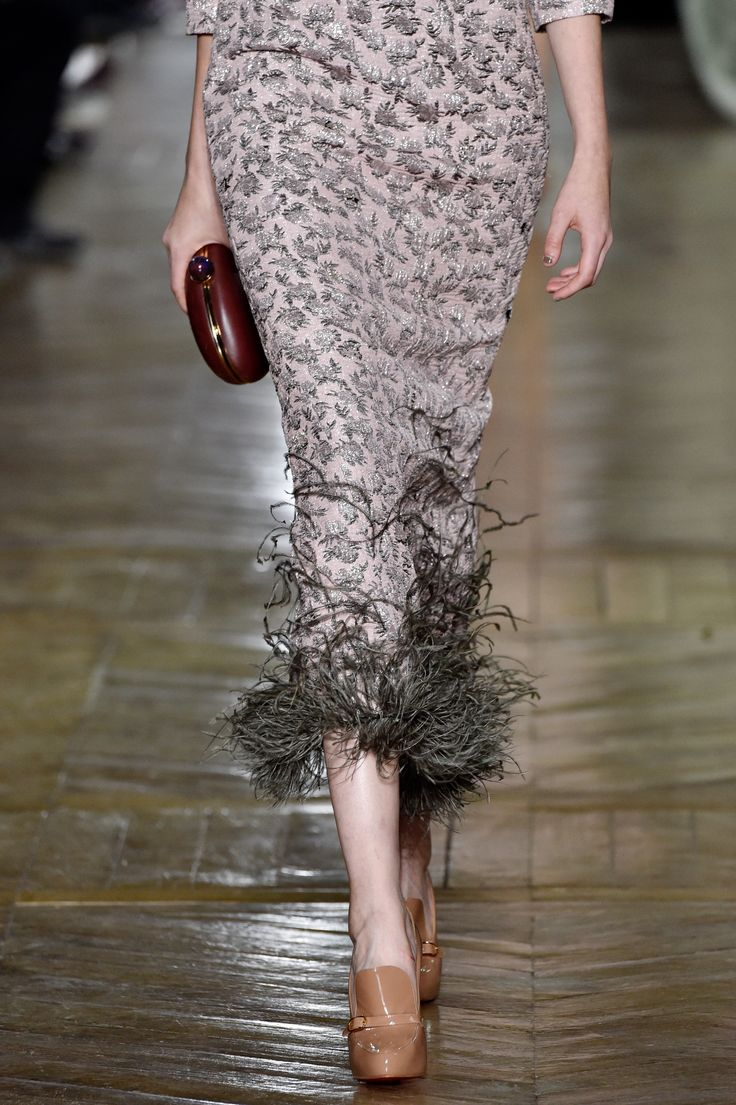 Details of Ulyana Sergeenko Fall-Winter 2016/17 Couture collection