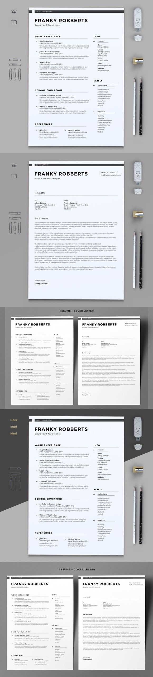 Prime Resume 769 best Resume Templates images