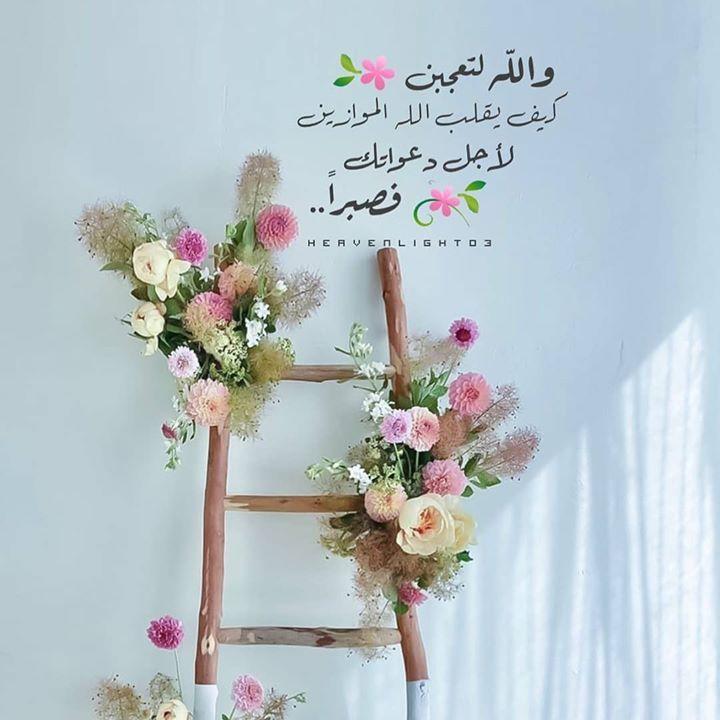 وﷲ لتعجبن كيف يقلب ﷲ الموازين لأجل دعواتك فصبرا مدونة أنا إيجابي قناة التحفيز العربي Https Instagr Am P Cdj7 C7ggln Ladder Decor Home Decor Decor