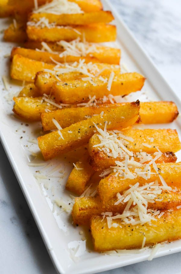 PARMESAN POLENTA FRIES from Rachel Schultz