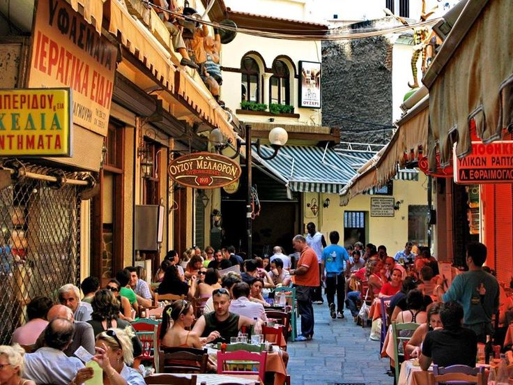 Traditional market of Thessaloniki