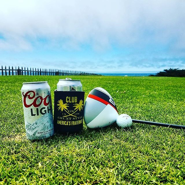 Just a random golf day, on Tuesday summer morning. #gruntstylegear #taylormade #coorslight #pacificgrove #summerfun2017☀️ #montereylocals #pacificgrovelocals - posted by Carlos Orta https://www.instagram.com/lost61186 - See more of Pacific Grove, CA at http://pacificgrovelocals.com