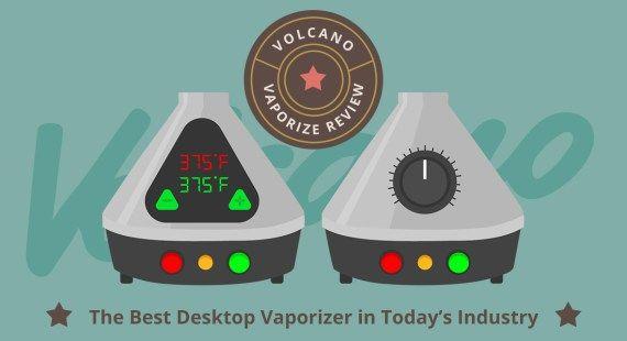 Volcano Vaporizer Review: The Best Desktop Vaporizer in Today's Industry